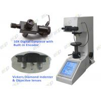 Buy cheap HV5 Auto turret Touch Screen Digital Macro Vickers hardness Tester durometer factory product