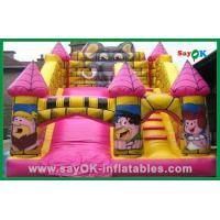 China Durable Air Blower Trampoline Inflatable Bounce / Inflatable Slide on sale