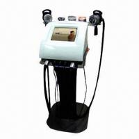 Buy cheap Body Shaping Instrument with RF/Vacuum, Cavitation, Electroporation and Photo-therapy, Weight Loss product