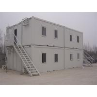 Buy cheap Flat Roof Multi Stories Prefab Container House Warehouse Industrial Building product