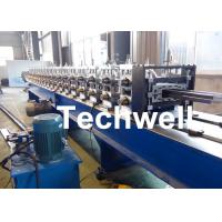 Buy cheap Steel Storage Shelf Sheet Upright Rack Roll Forming Machine for Metal Storage Shelving Profile product