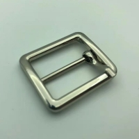 Buy cheap Iron Silver 31.5x22mm Belt Buckles Without Nickel Handbag Decoration product