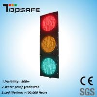 Buy cheap High Luminance LED Traffic Signal Light with 3 Sections (TP-JD200-3-203) product