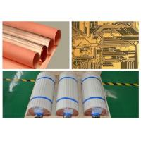 Buy cheap Single Side Type Copper Foil Sheet 18 Micron Width 530 Mm With High Peel Strength product