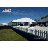 Buy cheap White Wedding Party Marquee / Outdoor Clear Span Marquee Hire product