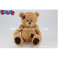 Buy cheap Brown Plush Patch Teddy Bear Toy With Big Belly product