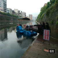 Buy cheap 4000m2/H 8km/H River Water Cleaning Machine Pond Weed Harvester product