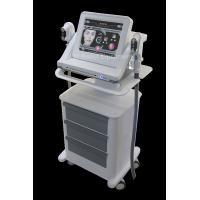 Double - Handle hifu high intensity focused ultrasound for face lifting / wrinkle removal