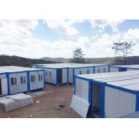 Buy cheap Economy Prefab Huge Refugee Camp 100 Persons Prefab Storage Container Homes product
