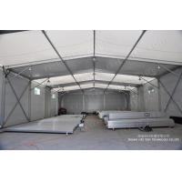 Buy cheap Waterproof clear span outdoor exhibition tents with aluminum and PVC material product