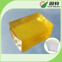 Buy cheap Synthetic polymer resin Medical Dressing Tape Pressure Sensitive Hot Melt Glue Yellow Transparent Color product