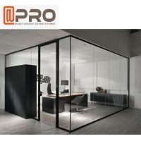 Buy cheap Modern Aluminum Wall Interior glass partition walls for offices product