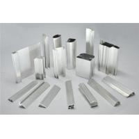 Buy cheap Frosted Fabric Aluminum Window Profiles / Aluminum Glass Door Frame from wholesalers
