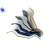 Buy cheap 10 mm Twin Wall Roofing Sheets PVC Hollow Plastic Roof Tiles product