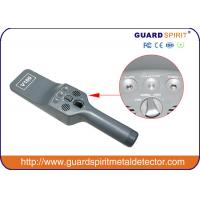 Buy cheap Portable Security Metal Detector Wand With Sound And Vibration Alarm product