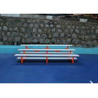 Blue Portable Outdoor Aluminium Bleachers For Pool / Inside Gym