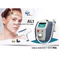 Buy cheap 1064nm 532nm Q-Switched Nd Yag Laser Machine For Tattoo Removal / Pigment Removal product