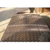 Buy cheap Alloy Embossed Aluminum Sheet 5 Bars for Bus 5.2mm Thickness product