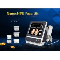 China Color Touch Screen 5 Heads HIFU Face Lifting Machine for Wrinkle Removal wholesale