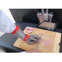 Buy cheap Food Grade Ss Long Sleeves Cut Proof Gloves , Cut Resistant Gloves Level 5 product