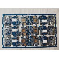 Buy cheap Blue Soldermask  Electronic Printed Circuit Board with Immersion Gold from wholesalers