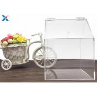 Buy cheap House Shape Big Clear Acrylic Candy Box Used In Retail Store from wholesalers