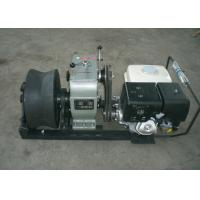 Buy cheap Cable Winch Puller 5 Ton Gas Engine Powered Winch with Honda GX390 13HP product