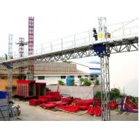 Buy cheap Customize 3200kgs Mast Climbing Work Platform with high lifting speed product