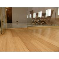 Buy cheap real High Gloss Horizontal or Vertical Solid Bamboo wood Flooring product