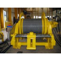 Buy cheap Double Folded Wire Rope Drum Cable Reel With Rope Line Device ISO BV CE Standard product