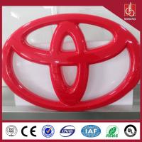 Buy cheap Outdoor 3D LED lighting car dealer signs for car company product