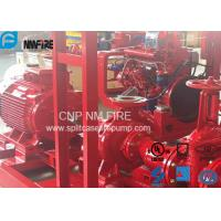 Buy cheap UL FM Approved Electric Motor Driven Fire Pump With Split Case Fire Pump 500USGPM / 10 Bar product