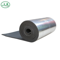 China 0.5mm back bonded aluminum foil rubber plastic insulation waterproof board on sale