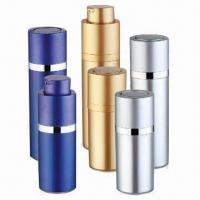 Buy cheap Cosmetic Airless Bottle for Skin Care Cream, Various Colors are Available, OEM Orders are Welcome product