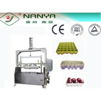 Buy cheap 400Pcs/H Energy Saving Waste Paper Pulp Tray Machine / Waste Paper Recycling Machine product