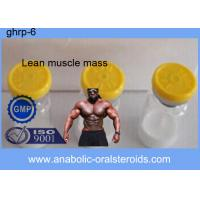Buy cheap 99% White Powder GHRP-6 / Ghrp-6 Peptide 2mg/vial 5mg/vial For Lean Muscle Mass CAS 87616-84-0 product