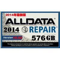 Quality 576G Auto Diagnostics Software HDD For Alldata Mitchell Autodata Sofware 2014Version for sale