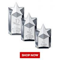 Buy cheap crystal star awards optical k9 crystal from wholesalers