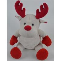 Buy cheap Promotion Gifts Moose Reindeer Custom Plush Toys With 100% PP Cotton Fabric from wholesalers