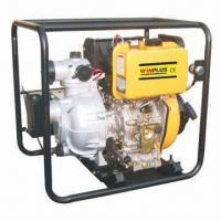 Buy cheap Diesel Water Pump with 6HP/3600rpm Maximum Output, High Pressure and 1.5-inch Port Diameter product