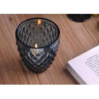 Buy cheap ASTM ODM / OEM Blue color replacement candle holder glass Top dia 88mm product