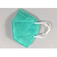 Buy cheap Stock 5 Ply Green 10pcs Kn95 Face Mask With Valve product