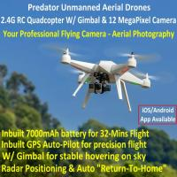 Buy cheap Predator Unmanned Aerial Vehicle 7CH RC Quadcopter Drone Photography Fly Camera Recorder product