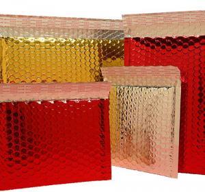 China Customized metallic bubble envelope/mailer on sale