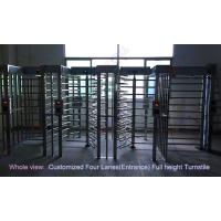 China Philippines Stadium Full Height Turnstile /  biometric access control barrier gate in outdoor wholesale