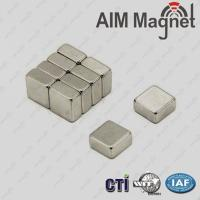 China 50 x 25 x 12.5 mm nefeb magnet on sale