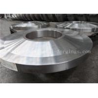 Buy cheap ST52 ST60-2 Carbon Steel Forged Rings Flanges Heat Treatment product