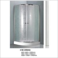Buy cheap Luxury Hotel Sliding Door Shower Cubicles With Stainless Steel Accessories product