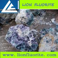 Buy cheap Colorful  metallurgical grade Fluorite (75-82% CaF2) metallurgical/ceramics/chemical industries/optical, lapidary etc product