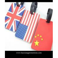 Buy cheap Best Manufacturer Suppliers custom high quality cheap luggage tags for national flag product